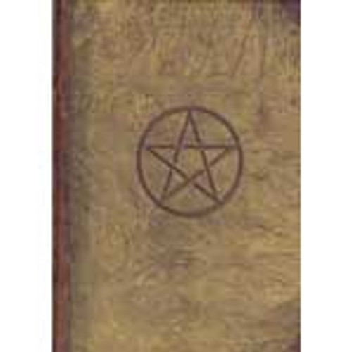 Pentagram Spell Book/Journal (Blank)