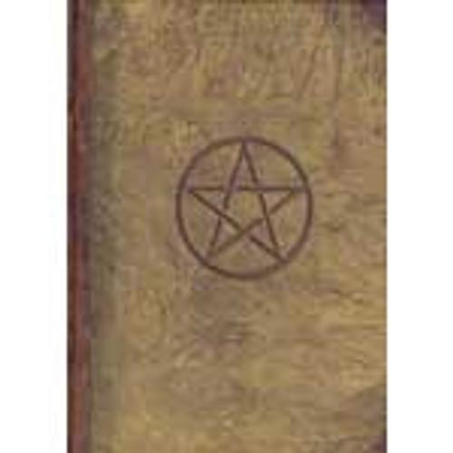 Pentagram Spell Book/Journal (Blank)