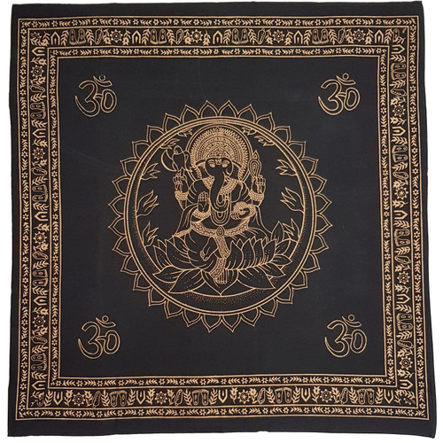 Ganesh Altar Cloth 1m x 1m