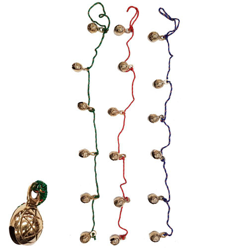 90cm Pentacle Brass Bell String