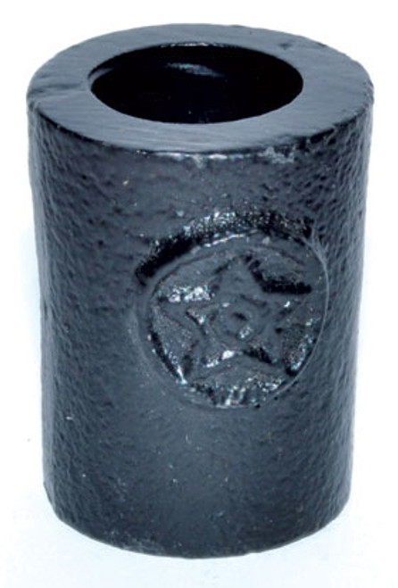 Chime Candle Holder - Cast Iron Pentagram