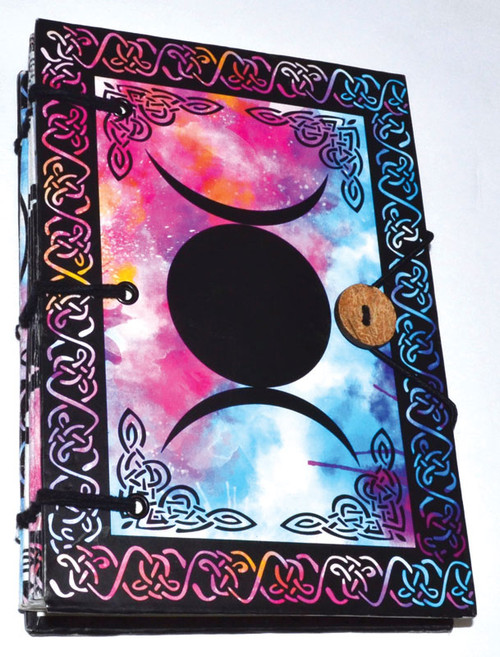 Triple Moon Parchment Journal