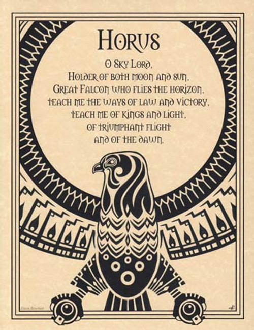 Horus Parchment Poster