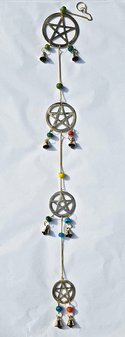 Pentagram Wind Chime Long 75cm