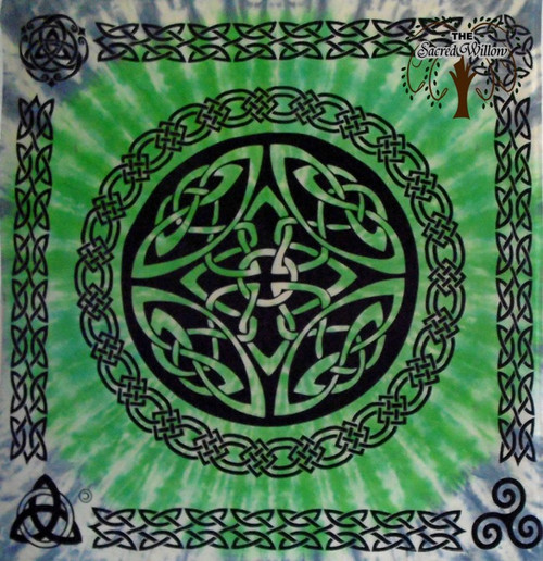 Shield Knot Celtic Altar Cloth 90cm x 90cm 100% Cotton