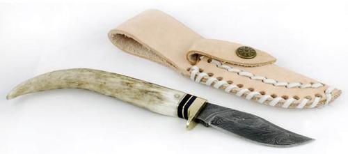 Stag Antler Damascus Athame/Decorative Dagger