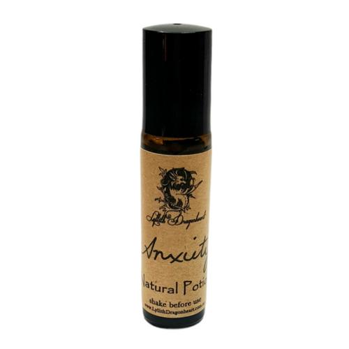 Anxiety Essential Oil Potion 10ml - Roll On  - Lyllith Dragonheart
