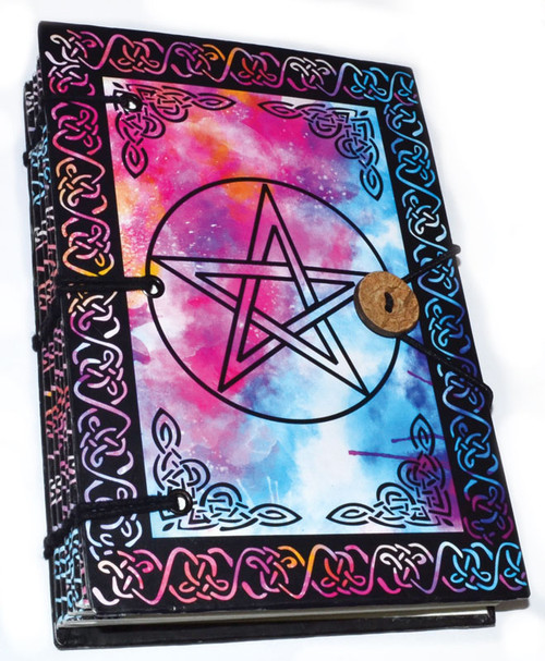 Pentagram Parchment Journal