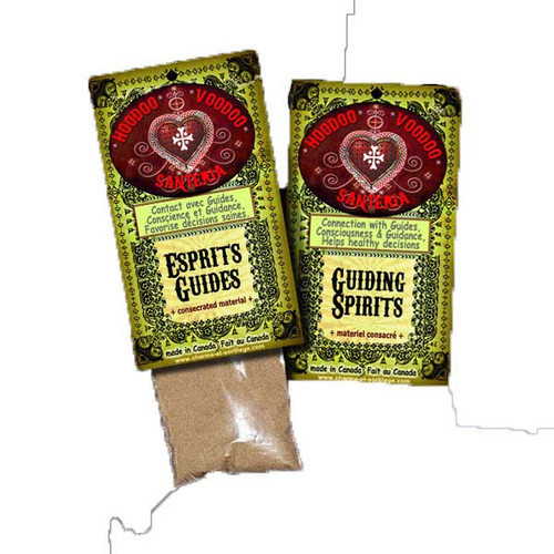 Guiding Spirits Powder Hoodoo Voodoo Santeria Espirits Guides 15g