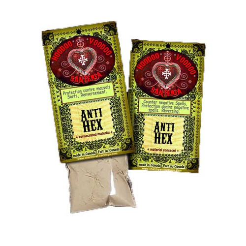 Anti Hex Powder Hoodoo Voodoo Santeria 15g