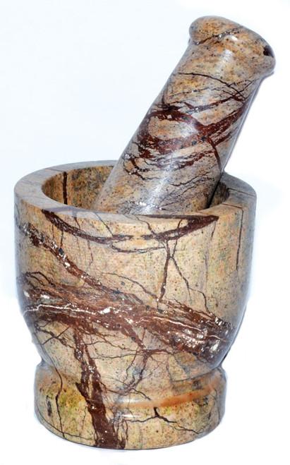 Bidasar Marble Mortar and Pestle 7.5cm