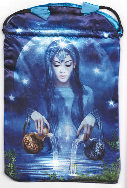 "Arcanum Tarot Bag by Lo Scarabeo 6"" x 9"""