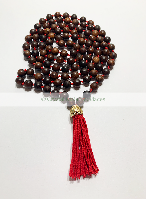 "Crystal Mala Necklace ""Simplicity"" 104cm"