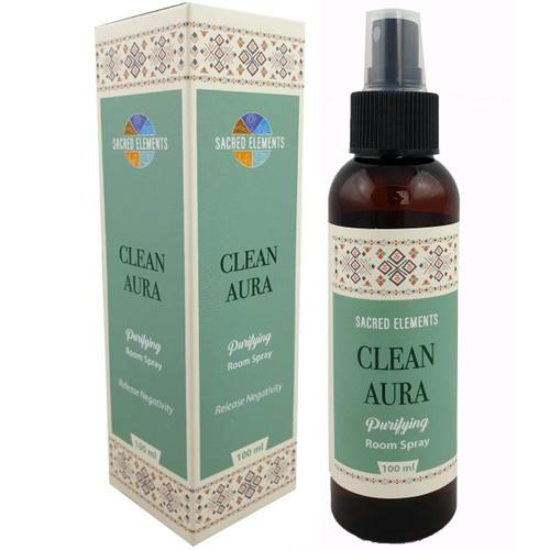 Sacred Elements Clean Aura Room Spray 100ml