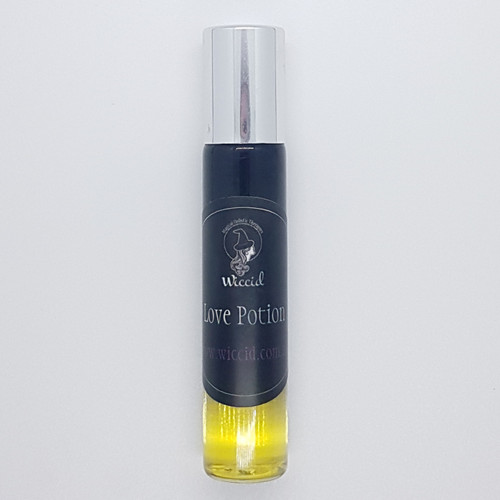 Wiccid Essential Oil Potion 10ml Roll On Handmade  - Love