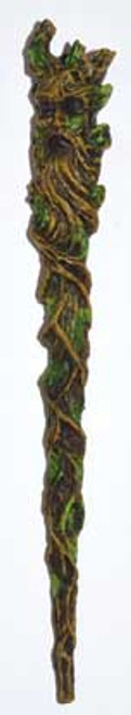 Greenman Resin Wand  23.5cm