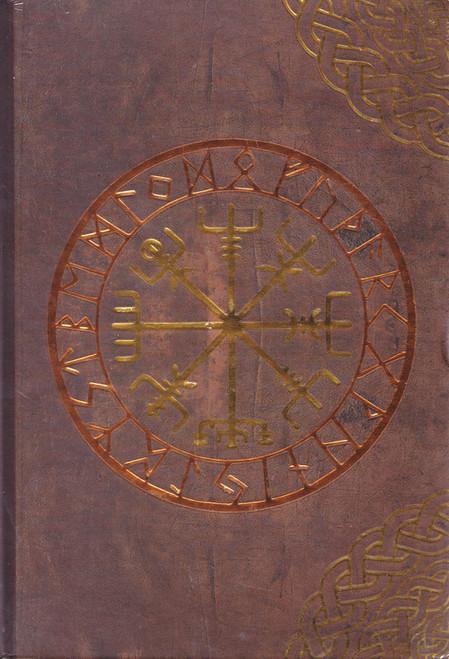 Rune Hard Cover Spell Book / Journal 17.5cm x 12cm