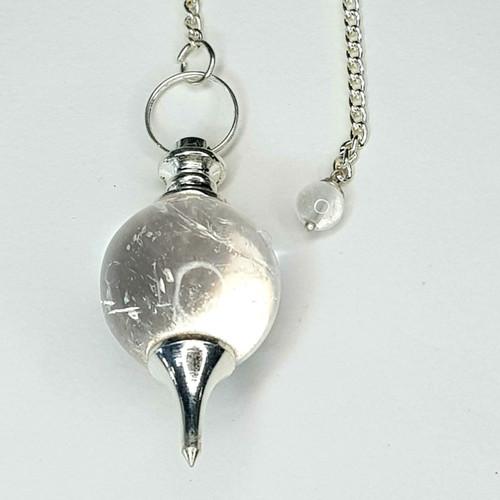Pendulum Ball Clear Quartz 24cm