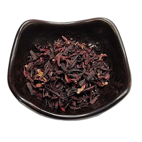 Hibiscus (Hibiscus sabdariffa) Flower Dried Herb