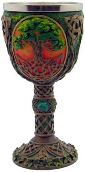 Tree of Life Chalice 19cm