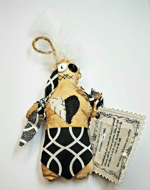 Voodoo Doll New Orleans Bewitched Positivity 13cm