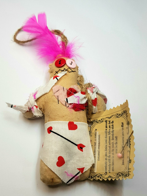 Voodoo Doll New Orleans Bewitched Lovey Dovey 13cm