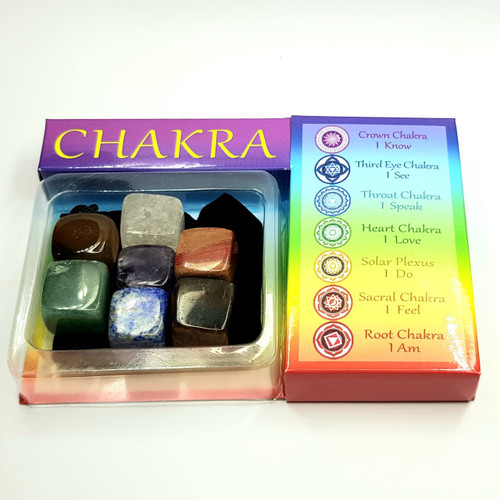 Chakra Gemstone Crystal Gridding Set
