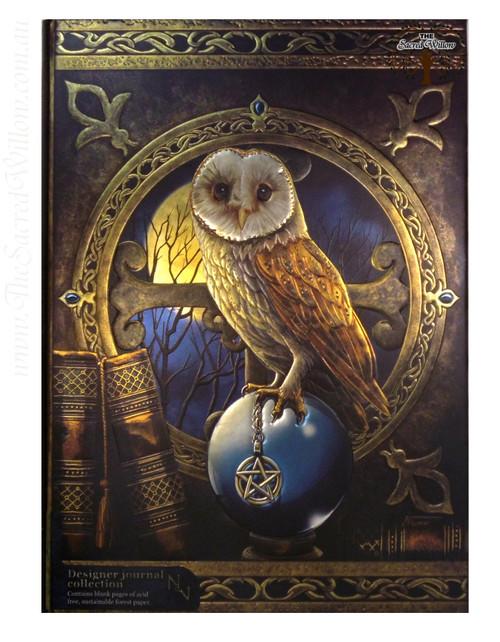 Owl Spell Keeper Spell Book / Journal 15x20cm Lisa Parker