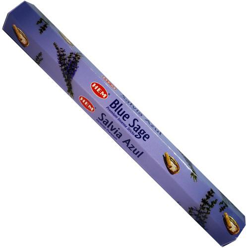 Blue Sage Hem Incense Sticks 20 gram Hexagonal