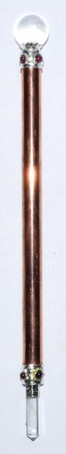 Copper Healing Wand  19.5cm