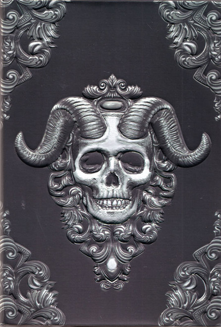 "Demon Skull Journal / Book of Shadows 5 1/2"" x 8 1/2"" Unlined"