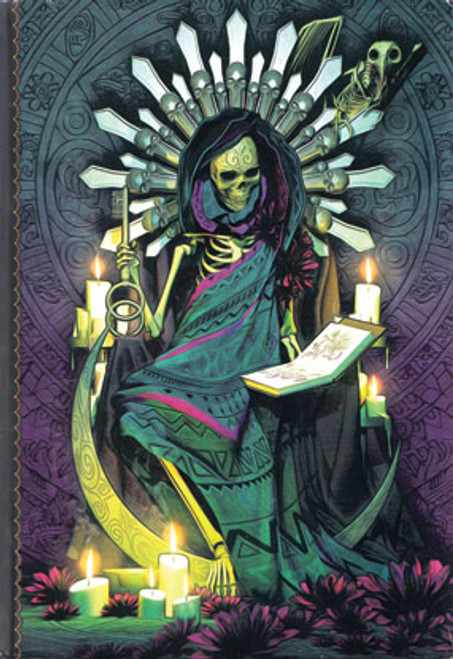 Santa Muerte Spell Book Journal Book of Shadows 21x15cm Front