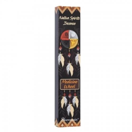 "Native Spirits ""Medicine Wheel"" Incense Sticks 15gm"