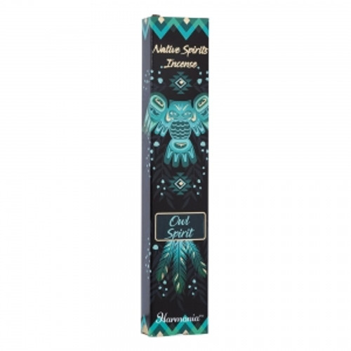 "Native Spirits ""Owl Spirit"" Incense Sticks 15gm"