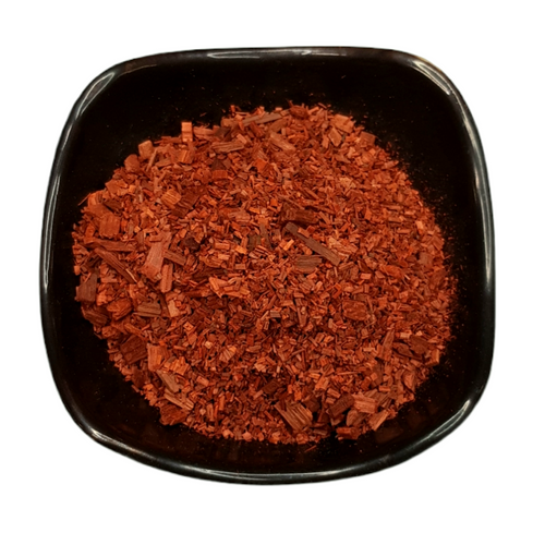 Sandalwood Red 25g Chip Incense - Santalum Album