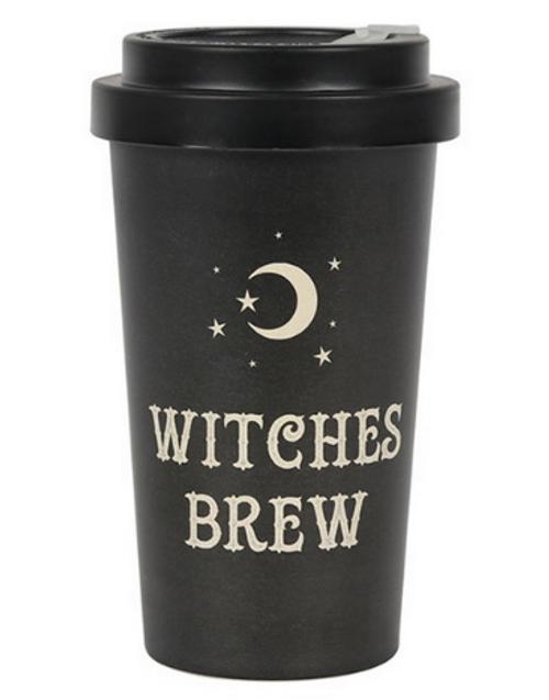 Witches Brew Bamboo Travel Mug 14cm