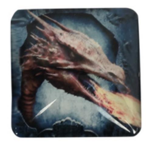 Glass Dragon Magnet Fire Breathing 5.5cm