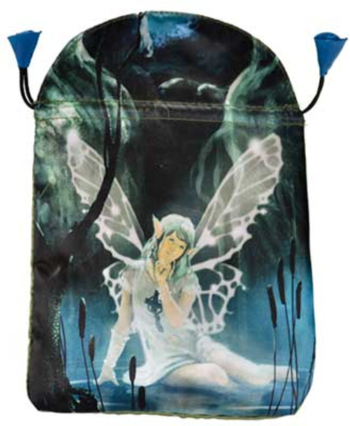 Green Fairy Tarot Bag by Lo Scarabeo 23cm x 15cm