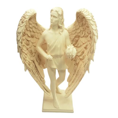 Archangel Uriel Resin Statue ~ 20cm