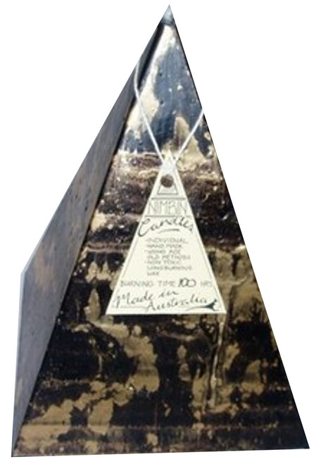Hand Made Ancient Ones Pyramid Candle