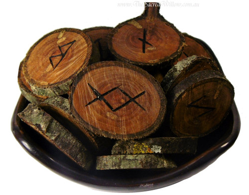 Apple Wood rune set