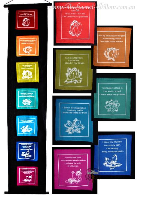 Lotus Inspirations Affirmation Banner