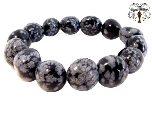 Snowflake obsidian carries the same properties including being a protective and shielding stone. Snowflake obsidian is a stone of purity, providing balance for body mind and spirit.