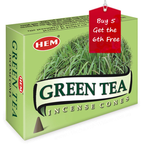 Green Tea Hem Incense