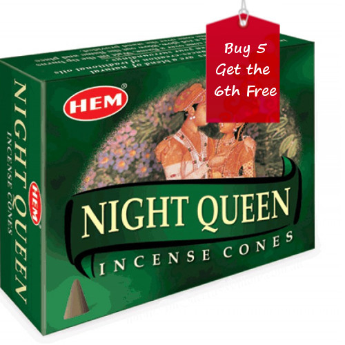 Night Queen Hem Incense Cones