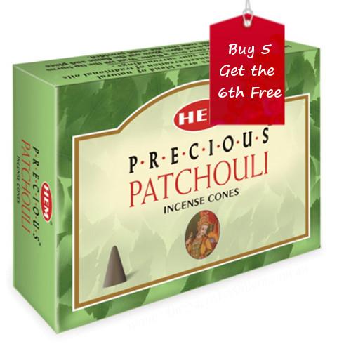 Patchouli Hem Incense Cones