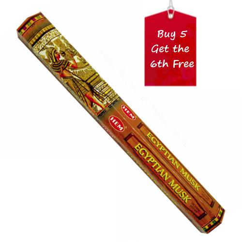 Egyptian Musk Hem Incense