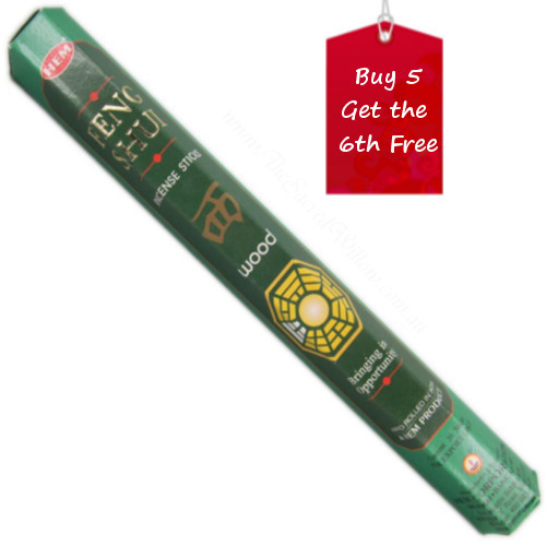 Wood Feng Shui Hem Incense