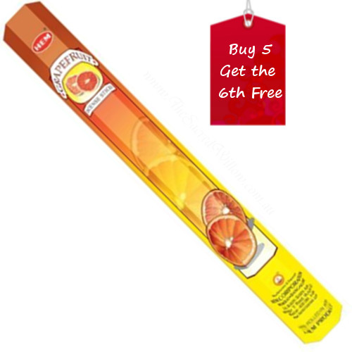 Grapefruit Hem Incense