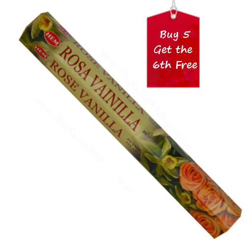 Rose Vanilla Hem Incense
